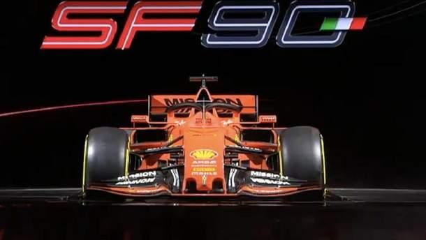 Ferrari презентовала новый болид Формулы-1