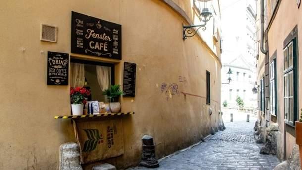 Кофейня расположена в Вене на улице Fleischmarkt, 9