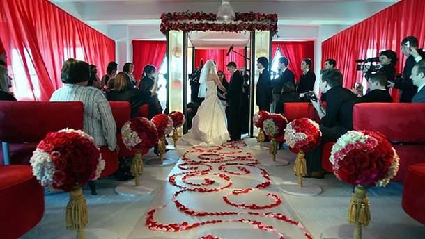 Весілля у День Святого Валентина