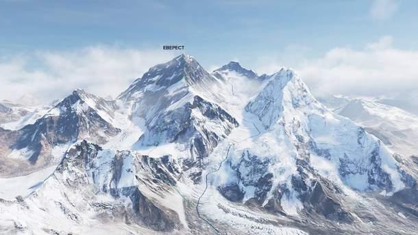 Шлях на гору Еверест частково закрили для туристів