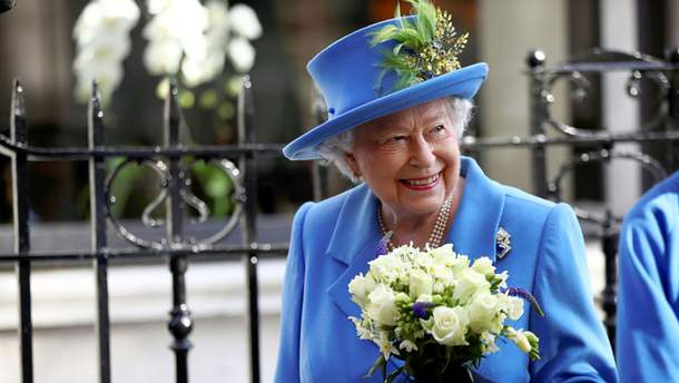 Королева Елизавета II в Лондоне
