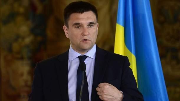 """""""Це ще не кінець"""": Клімкін сказав, коли Росії чекати персональних санкцій від ЄС"""