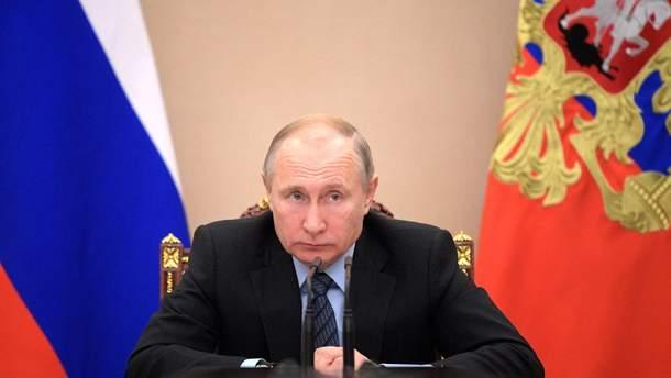 Путин выразил свое недовольство относительно выборов в Украине