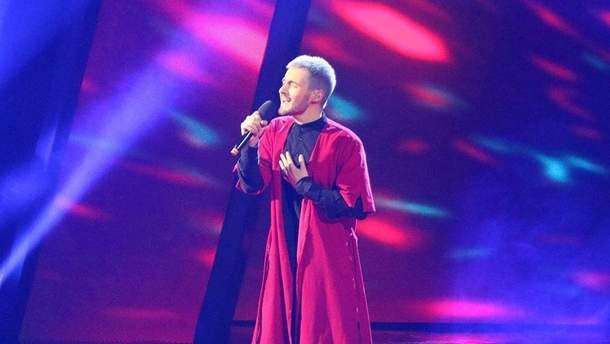 Співак KHAYAT здивував своїм виступом на Нацвідборі