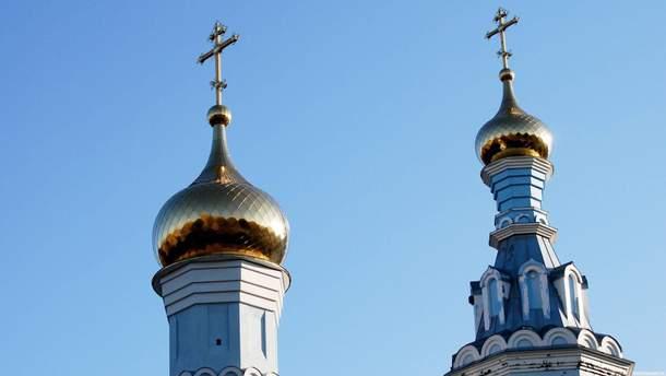 В Кривом Роге подожгли двери храма Московского патриархата