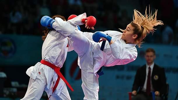 Украинские каратистки завоевали награды на престижных соревнованиях