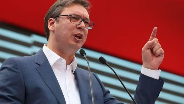 Вучич зробив жорстку заяву щодо взаємин із Косовом