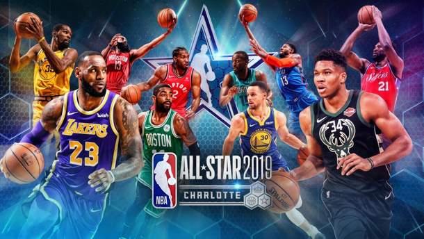 Матч всіх зірок НБА-2019