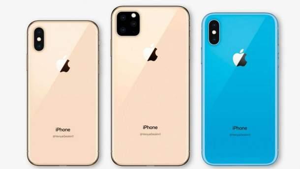 Один из прототипов iPhone 2019