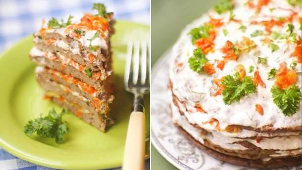 как приготовить вкусный печеночный торт пошаговый рецепт с фото