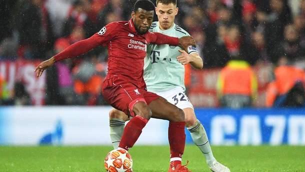 Ліверпуль - Баварія: відео голів, огляд матчу Ліги чемпіонів
