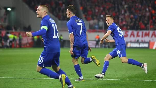 Динамо – Олимпиакос: видео голов, обзор матча Лиги Европы 2018/2019