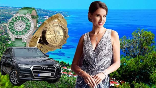 Відпочинки за тисячі доларів та годинники з діамантами: королівське життя дружини прокурора