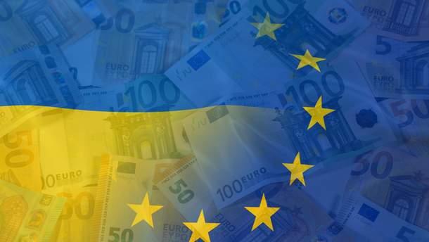 В правительстве назвали объем помощи ЕС