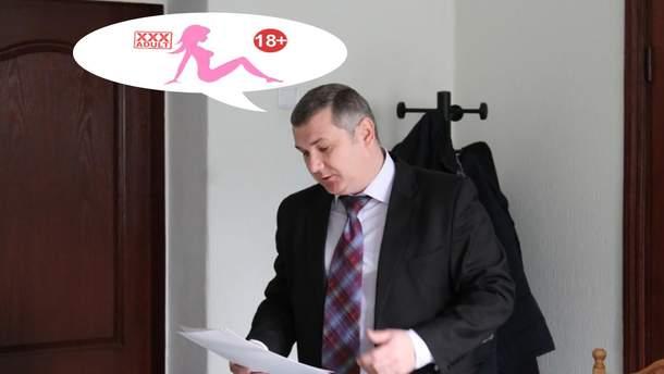 В Кропивницком начальник облавтодора Андрей Рудник сконфузился из-за звуков порно на телефоне