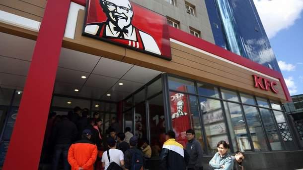Ресторан KFC в Улан-Баторі.