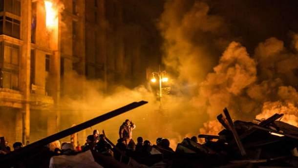 Криваві події на Майдані