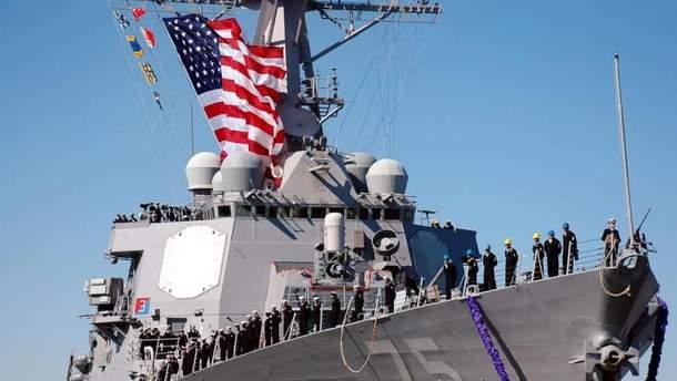 Американский корабль вошел в Черное море: Россия сразу отреагировала