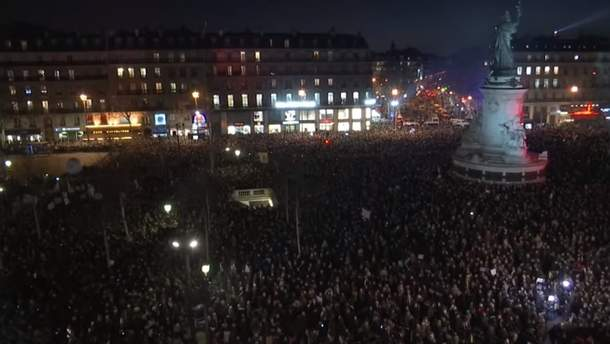 Во Франции прошли демонстрации против волны антисемитизма