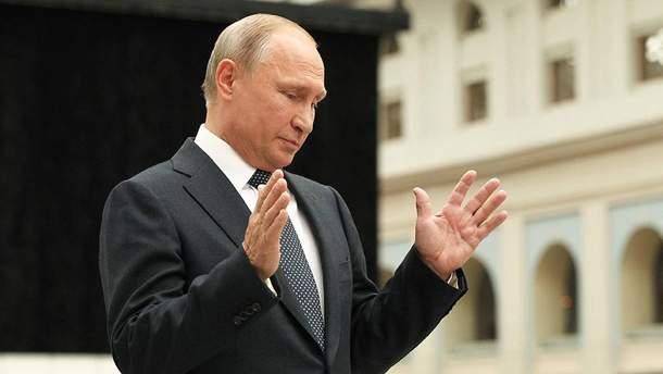 """Путин рассказал, когда на воду спустят ядерную лодку с беспилотной системой """" Посейдон"""""""