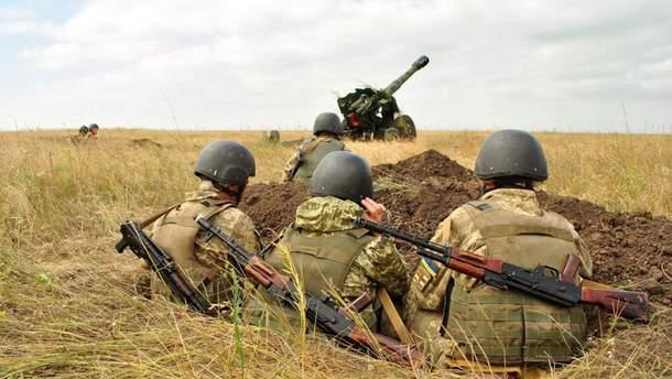 Військові навчання бійців Об'єднаних сил