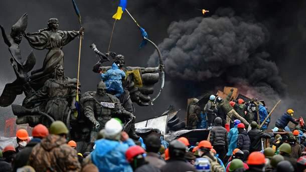 Кровавые события на Майдане