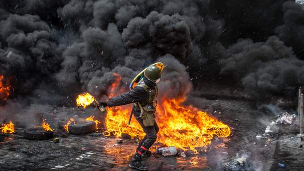 События в центре Киева заставили ряд лиц перейти на сторону Евромайдана