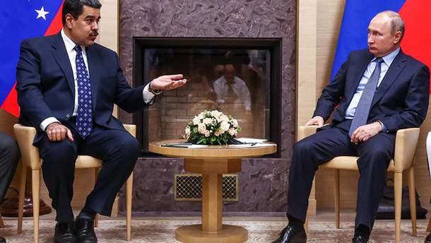 Ніколас Мадуро та Володимир Путін продовжують зміцнювати дружбу