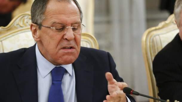 """Лавров заявив про підготовку Києвом """"нової провокації"""" в Керченській протоці"""