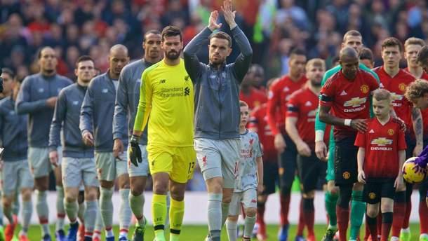 Манчестер Юнайтед – Ливерпуль: видео голов, обзор матча АПЛ 2018/2019