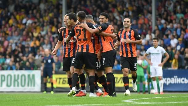 Шахтар - Олександрія: відео голів, огляд матчу УПЛ 2018/2019