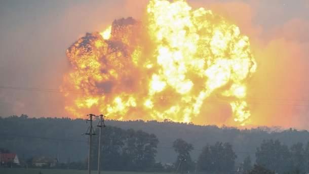 Один из военных арсеналов ВСУ пытались поджечь