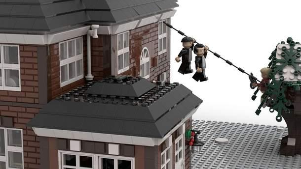 """Дом из фильма """"Один дома"""" можно сложить из конструктора Lego"""