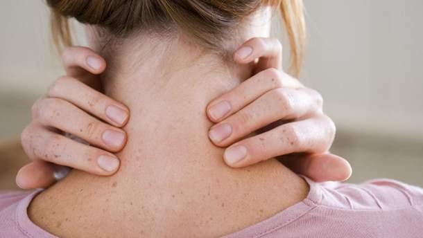 Перша допомога при травмах шиї
