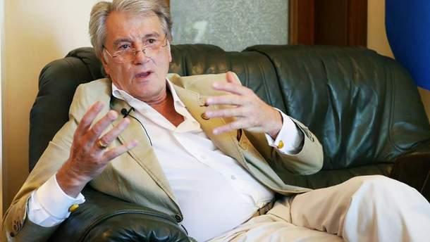Ющенко рассказал, за какого кандидата в президенты проголосует на выборах