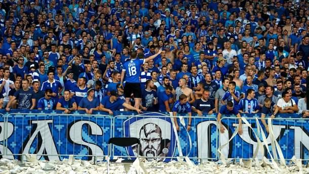 """УЄФА покарає """"Динамо"""" та """"Шахтар"""" за поведінку вболівальників на матчах Ліги Європи"""