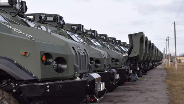 """88-й батальон морской пехоты получил очередную партию бронеавтомобилей """"Варта"""""""