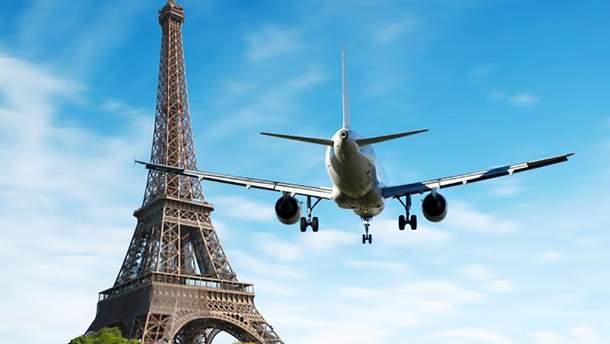 В Украине увеличится количество рейсов из Киева в Париж