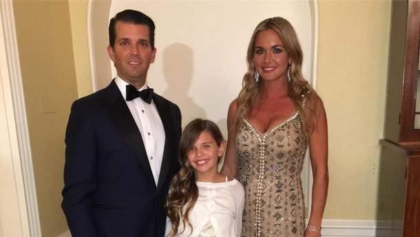 Дональд Трамп-молодший розлучився з дружиною Ванессою Хейдон