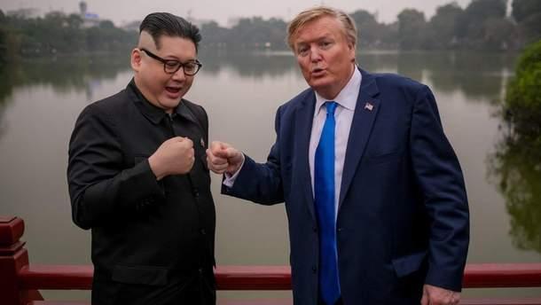 Двійники Трампа та Кім Чен Ина