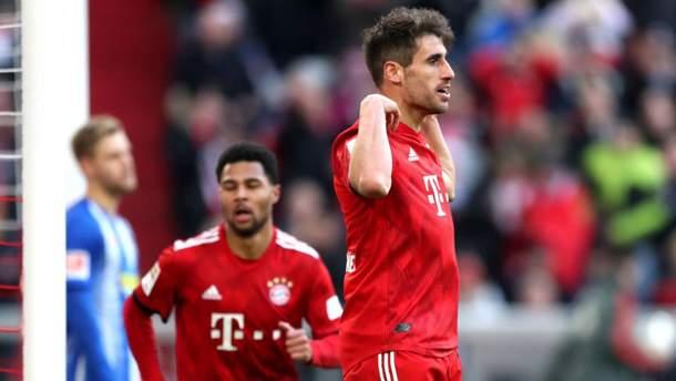 """""""Баварія"""" виграла третій матч поспіль в чемпіонаті Німеччини"""