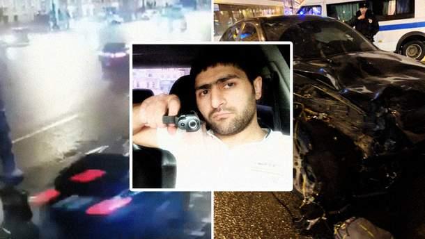 ДТП у Санкт-Петербурзі на Невському - авто забилл 5 осіб: фото і відео 18+