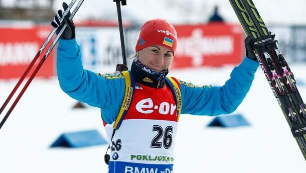 Четверо украинских биатлонисток финишировали в топ-20 на чемпионате Европы