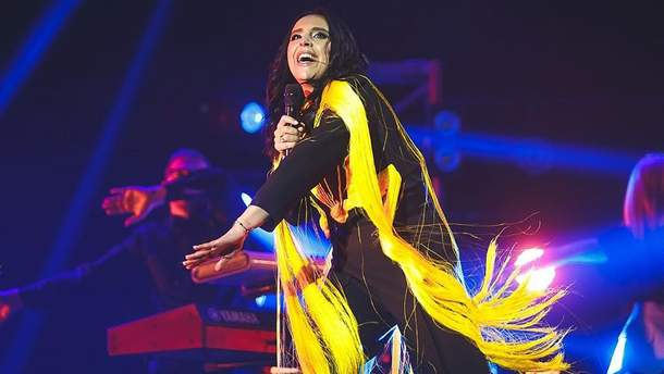 Эстрадной певицы  Джамалы: вУкраинском государстве  шокированы гастролями вРФ «национальной гордости»