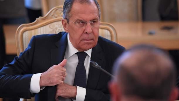 Лавров не бачить умов для мирної угоди з Японією щодо Курил