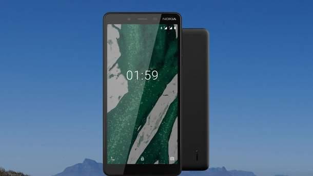 Бюджетник  Nokia 1 Plus