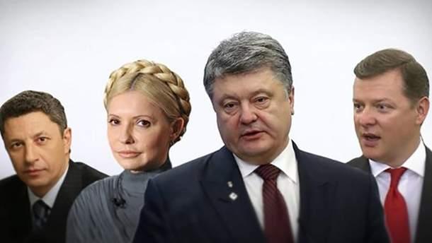 Полиция ведет расследование в отношении кандидата в президенты Украины