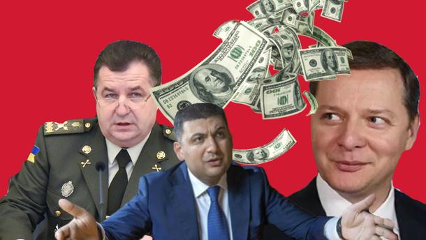 """Результат пошуку зображень за запитом """"Скільки заробляють міністри і депутати в Україні: відомі найвищі зарплати"""""""