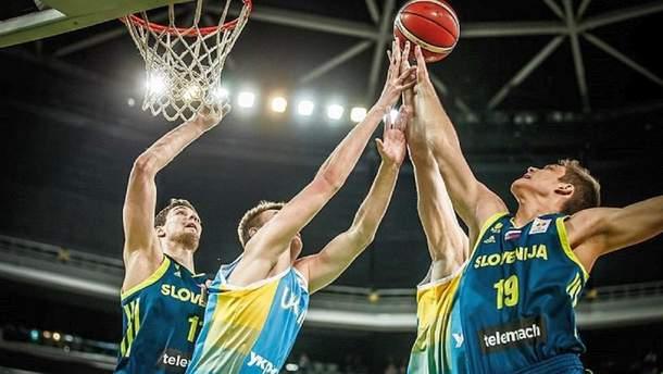 Збірна України програла Словенії