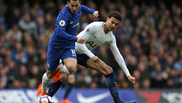 Челсі - Тоттенхем: де дивитися онлайн матч АПЛ 2018/2019